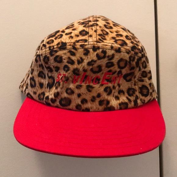 4be101b59b9 St. Vincent Leopard Hat. M 5a51168100450f97b5014bc7. Other Accessories ...